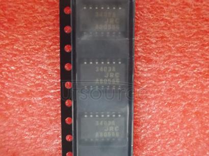 NJM3403A Quad Single-Supply Operational Amplifier,,