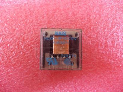 NC2D-JP-DC12V Flat Power Relay, 2 Form C, 5A 250VAC, PCB Terminal type
