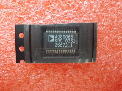 AD80066KRS Complete   16-Bit   CCD/CIS   Signal   Processor