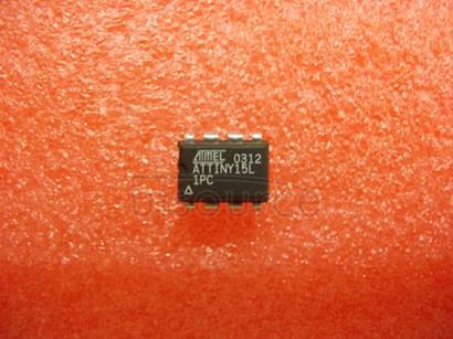 ATTINY15L-1PC 8-bit   AVR   Microcontroller   with  1K  Byte   Flash