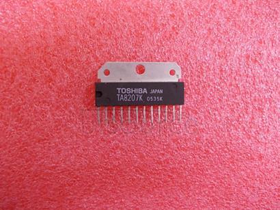 TA8207K TOSHIBA Bipolar Linear Integrated Circuit Silicon Monolithic