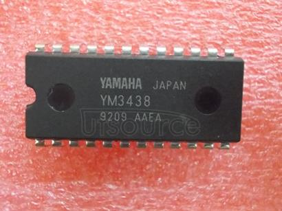 YM3438 DIP-24 Integrated Circuit from Yamaha