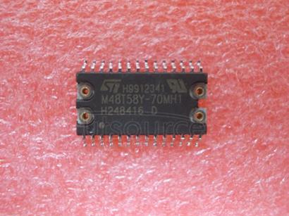 M48T58Y-70MH1 64 Kbit 8Kb x8 TIMEKEEPER SRAM