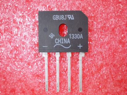 GBU8J Glass Passivated Single-Phase Bridge Rectifier