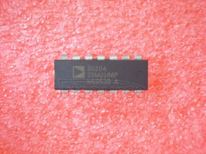 SSM2166P Microphone Preamplifier with Variable Compression and Noise Gating