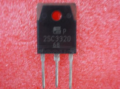 2SC3320 TRIPLE DIFFUSED PLANER TYPE HIGH VOLTAGE HIGH SPEED SWITCHING