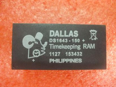 DS1643-150 Nonvolatile   Timekeeping   RAM