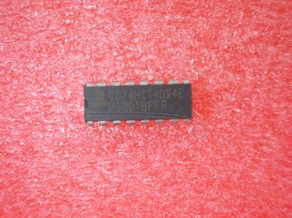CD74HCT4094E LMC6484 CMOS Quad Rail-to-Rail Input and Output Operational Amplifier<br/> Package: CERPACK<br/> No of Pins: 14