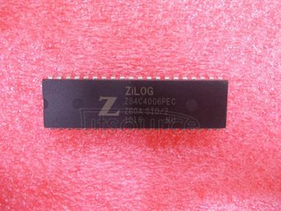 Z84C4006PEC SERIAL INPUT/OUTPUT CONTROLLER