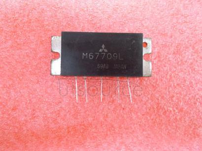 M67709L 430-470MHz, 12.5V, 13W, FM MOBILE RADIO