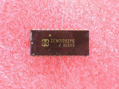 ICM7170IPG Microprocessor-Compatible, Real-Time Clock
