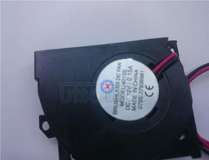 Fan, flat piece fan DC12V0. 15 a MOOEL; 4010 s is suitable for cooling ventilation in the computer machine parts