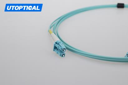 10m (33ft) LC UPC to LC UPC Duplex 2.0mm LSZH OM3 Multimode Fiber Optic Patch Cable