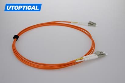 5m (16ft) LC UPC to LC UPC Duplex 2.0mm LSZH OM2 Multimode Fiber Optic Patch Cable