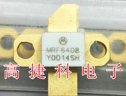 MRF6408 12 W, 2.0 GHz RF POWER TRANSISTOR NPN SILICON