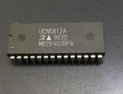 UCN5812A BiMOS II 20-BIT SERIAL-INPUT, LATCHED SOURCE DRIVERS WITH ACTIVE-DMOS PULL-DOWNS