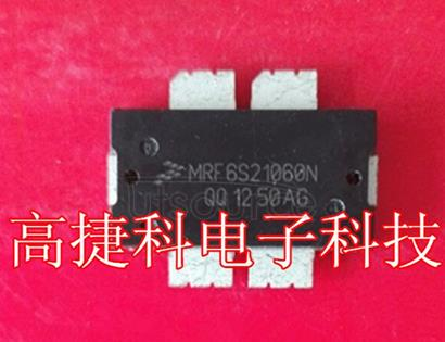 MRF6S21060NR1  MRF6S21060N 2110-2170 MHz, 14 W AVG., 28 V  2 x W-CDMA  MRF6S21060NR1 MRF6S21060NBR1  1 RF Device Data Freescale Semiconductor RF Power Field Effect Transistors N-Channel Enhancement-Mode Lateral MOSFETs