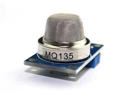 MQ-135 Air Quality Detection Module for Harmful Gas The MQ-135 Air Quality Detection Module Sensitive for benzene, alcohol, smoke
