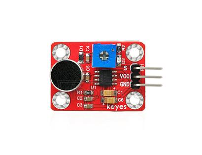 keyes Microphone Sound Sensor  (with soldering pad-hole)