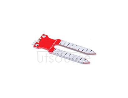 KEYES Soil Moisture Content Sensor for Arduino Products - Silver + Red