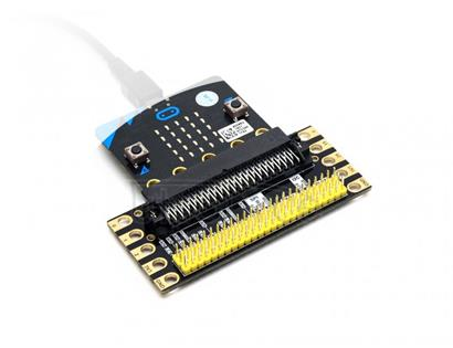 Edge Breakout for micro:bit, I/O Expansion Edge connector expansion board for micro:bit, breakout the I/O pins to pinheader interface