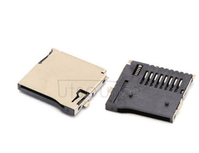 Mobile phone use machine acoustic TF card reader to the small booth SD card playing type MicroSD memory card slot (5 PCS) TF small booth SD card from the bomb type Micro SD phone memory CARDS outside welding type memory card slot