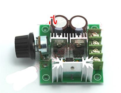 CCMHC dc motor governor pump PWM stepless speed control switch is efficient 12V-40V10A.