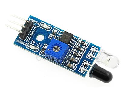Intelligent car robot diffuse reflection obstacle avoidance sensor module infrared pair tube module photoelectric switch