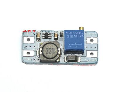 DC-DC boost module 2A boost board input voltage 2-24V rise 5/9/12/-28V adjustable 2577 NEW