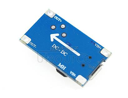 2A boost board DC-DC boost module wide pressure input 2/24V lift 5/9/12/28V adjustable 257 Module characteristics    1) maximum output current: 2A (recommended for use in 1A)  2) input voltage: 2 v--24 V  3) maximum output voltage: > 28 V (recommended for use in 26V).  4) efficiency: > 93% (efficiency is related to the pressure difference between input and output).  5) size: 30mm* 17mm* 14mm (long * width * height)