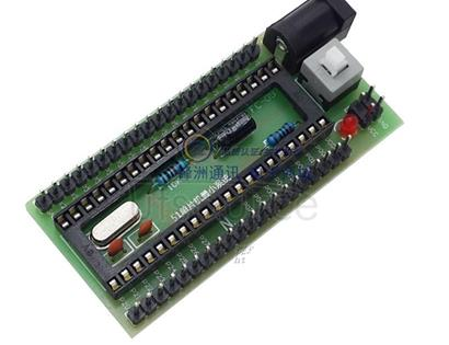 51 MCU small system board / STC89C52 development board STC small system board / development board 51 MCU small system board, support STC89C51, STC89C52, STC12C5A60S2, AT89S51, AT89S52 and other commonly used 40 feet 51 single chip, a large number of models, not listed one by one!