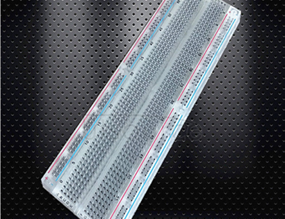 MB-102 transparent bread board 830 - hole transparent bread plate. Non-soldered breadboard mb-102.