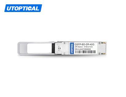 Cisco QSFP-40G-BD-RX Compatible 40GBASE-SR Bi-Directional Duplex LC Transceiver Module
