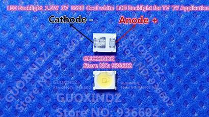 OSRAM LED Backlight 1.5W 3V 1210 3528 2835 131LM Cool white For LED LCD Backlight TV Application LED LCD TV Backlight