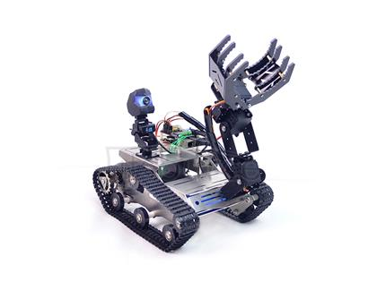 Raspberry Pi 3B TH Wireless Robot with Manipulator (A2 Arm)