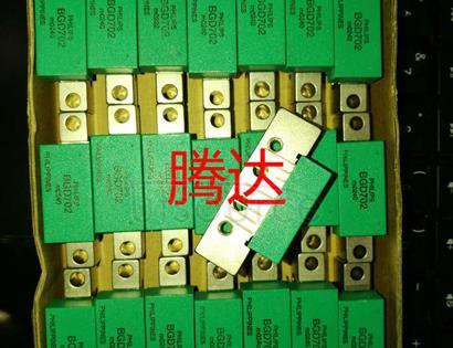 BGD702 750 MHz, 18.5 dB gain power doubler amplifier - Composite second order distortion CSO: -58 dB<br/> Composite triple beat CTB: -58 dB<br/> Description: 750 MHz, 18.5 dB gain Power Doubler <br/> Frequency range: 40 - 750 Hz<br/> Gain: 18.5 dB<br/> Return loss input/output: 20/20 dB<br/> Total current consumption Itot: 435 mA