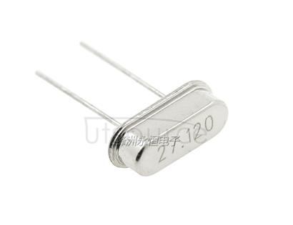 27.12 M HC-49S dwarf directly inserted passive crystal vibration 27.12 MHz(20)