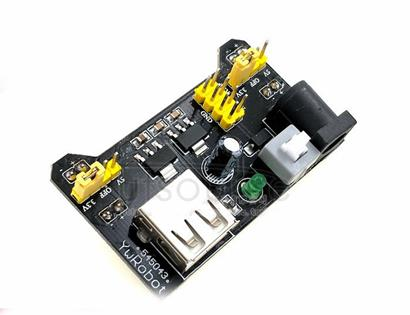 Bread plate specific power supply module compatible 5V3 .3 VMB-102 power plate double road 5V/3 .3 black