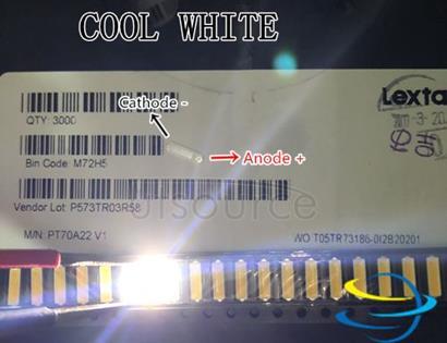 Lextar LED Backlight Mid Power LED 0.5W 7020 3V Cool white 40LM TV Application