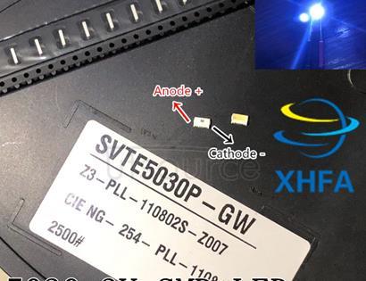 LED Backlight Edge LED Series 3V 5030 SVTE5030P-GW Cool white TV Application