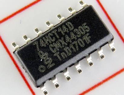 74HCT14D 74HC/HCT14<br/> Hex inverting Schmitt trigger
