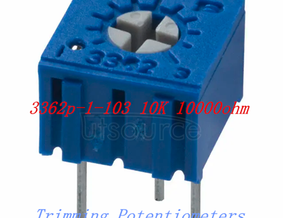 3362P-103 potentiometer 10K 10000 Ohm Trimming resistor,electronic components purchasing Packaging & Delivery Packaging Details Polybag and standard export carton for Potentiometer Delivery Time according to quantity,normally in 48hour after the payment