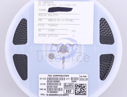 TXC Corp 7V16006001