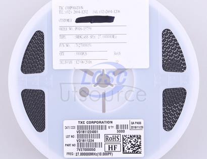 TXC Corp 7V27000050