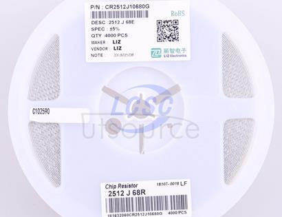 LIZ Elec CR2512J10680G