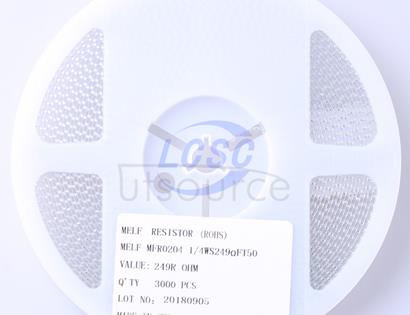 Thunder Component MELF-MFR02041/4WS249ΩFT50