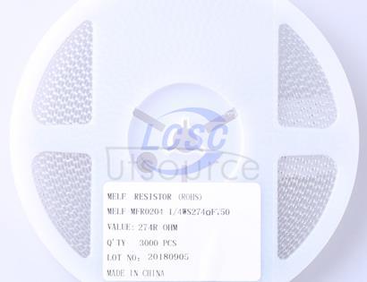 Thunder Component MELF-MFR02041/4WS274ΩFT50