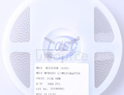 Thunder Component MELF-MFR02041/4WS255kΩFT50
