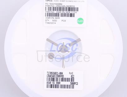 Ever Ohms Tech CRA034RJ390RP05