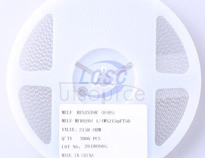 Thunder Component MELF-MFR02041/4WS215ΩFT50